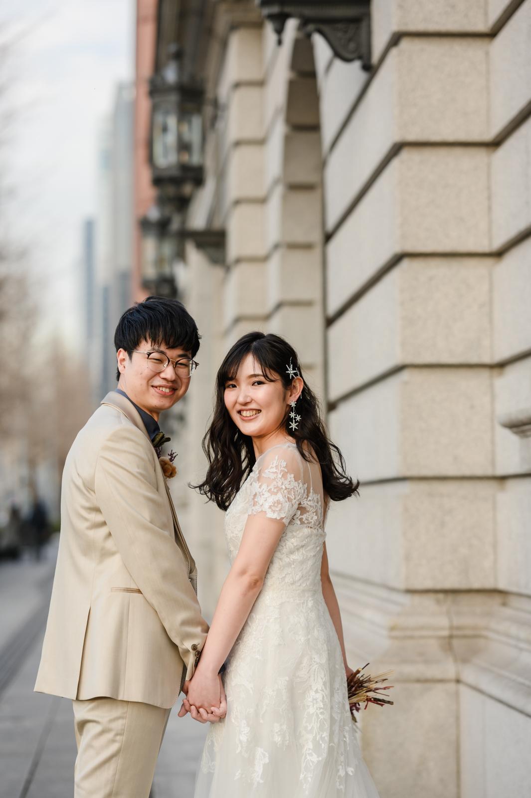 Tokyo Station Pre Wedding Photo