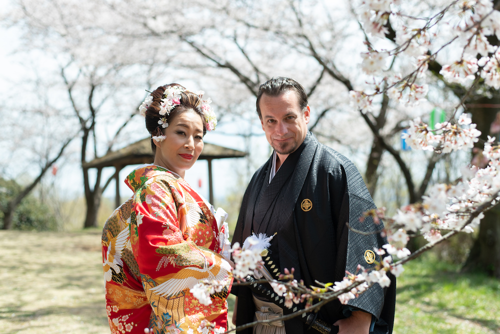 Cool Japan Wedding